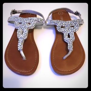 Other - Cherokee sandals with beads, Size 1